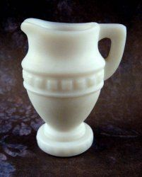Imperial Glass Mini Grecian Urn Doeskin $17 Use coupon code ggpin13 for 20% off this item. #vintageglass