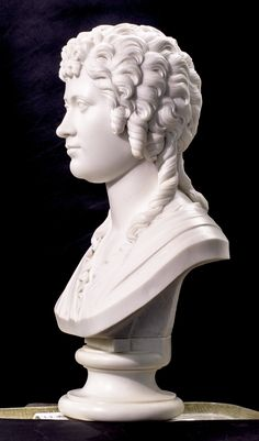This marble statuary bust of Ann Carter Brown is from Brown University's Hay Library Reading Room. We reconnected the base, or socle, cleaned her and assisted her reinstallation.