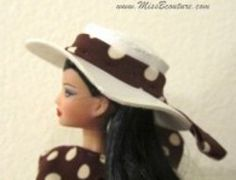 25 Best Doll Hats Images Barbie Patterns Barbie Clothes