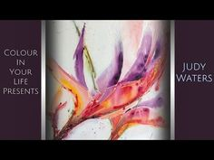 Resin Art Lesson with Judy Waters | Colour In Your Life - YouTube