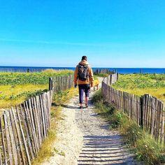 Renouer doucement avec ses paysages favoris ! #bzh #breizh #bretagne #morbihan #lifestyle #madbzh Le Shop, Vineyard, Mad, Lifestyle, Places, Poster, Outdoor, Brittany, New Adventures