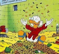 Afbeeldingsresultaat voor uncle scrooge money bath