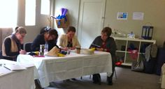 Ladies hard at work, at the inaugural Demartini Method® for Groups held by Ambitious Minds
