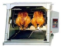 Ronco ST5000PLGEN Indoor Outdoor Meat Cooker Oven Rotisserie Platinum Edition