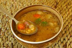 Hrachová polévka s bramborem Czech Recipes, Ethnic Recipes, Food, Essen, Meals, Yemek, Eten