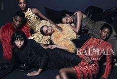 snapshot-balmain-fall-2014-ad-cara-delevingne2  L'Entre-Deux by FASHIZBLACK.com