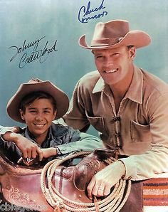 CHUCK CONNORS & JOHNNY CRAWFORD