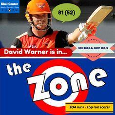 David Warner is in...