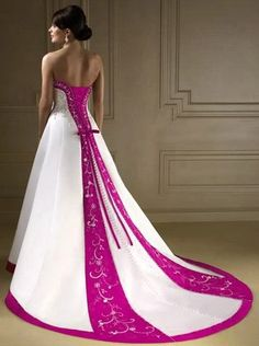 Wedding gown that I may want one day. I may just buy it without getting married just to have it.