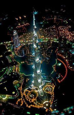 Tron + Las Vegas = Dubaï de nuit