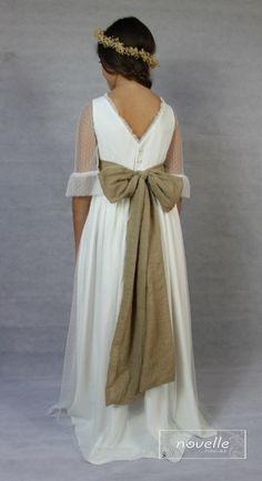NOVELLE comunion - Mod. Clover 2 Bridesmaid Dresses, Wedding Dresses, Fashion, Bridal Gowns, Boyfriends, Bridesmade Dresses, Bride Dresses, Moda, Fashion Styles