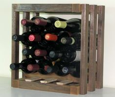 Wine Racks - 14 Bottle Walnut  Maple Mini Cellar -- You can find more details by visiting the image link.