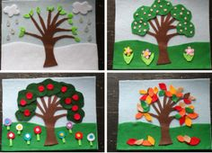 How to Make Four Seasons Felt Board