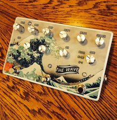 FoxPedal The Wave Dual Delay / Reverb