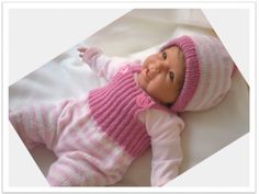 Babyhose und Babymütze Strickanleitung von Bunt gehäkelt von Petra auf DaWanda.com