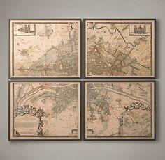 Paris Maps | Restoration Hardware
