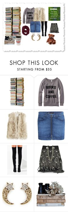 """BOOKS & COFFEE"" by miracle-child-1 ❤ liked on Polyvore featuring Radius Design, Sandwich, 3x1, Jeffrey Campbell, Jérôme Dreyfuss, Marc Jacobs and Athleta"