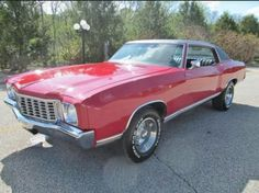 1972 Monte Carlo . 402 big block . Custom package with rare leather bench seat and column shift
