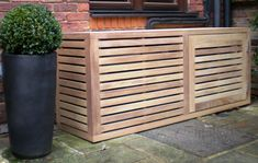 Contemporary Air Conditioning Covers - Essex UK, The Garden Trellis Company