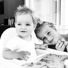 T B T  two years ago .. Senna and his big sister! Can someone stop time please? #eln15 #eln16 #enlasnubes #throwbackthursday #throwback #family #familia #familylove #familytime by pamdosal
