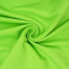 Jersey - Jersey French Terry uni grün - ein Designerstück von Schoener-Leben-Shop bei DaWanda