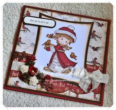 Sketchy Colors DT Christmas Card 2015 I Card, Christmas Cards, Crafting, Traditional, Paper, Colors, Frame, Projects, Home Decor