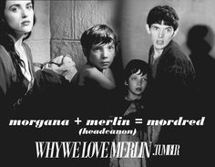 omg yes if mergana ever happened mordred would be the perfect son for them omg