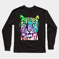 """Grab this awesome """"Colorful Tiger Head"""" design now, and show it off to your family and friends. #tshirt #tshirts #tshirtprinting #tshirtoftheday #tshirtyarn #tshirtanak #tshirtswag #tshirtcustom #tshirtmuslimah #tshirtcouple #tshirtmalaysia #clothesshop #tees?#tshirtstyle #tshirtstore #tshirtshop #tshirtlife #tshirtonline #tshirtcollection #tshirtlovers #tshirtbrand #tshirtsforsale #tshirtdress #guccitshirt #cooltshirt #tshirtfashion Tiger Art, Tiger Head, Trendy Outfits, Cute Outfits, T Shirt Yarn, Tshirts Online, Baby Boy Outfits, Cool T Shirts, Graphic Sweatshirt"""