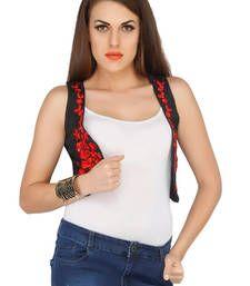 Buy Black bengal silk other-apparel top online