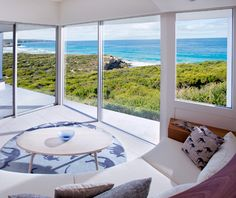 Southern Ocean Lodge, on Australia's Kangaroo Island, an eco-friendly hotel with breathtaking views of the sea.