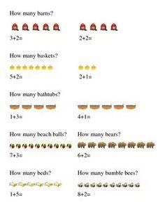 How Many Addition Kindergarten Math Number 2.