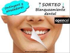 **** NUEVO SORTEO ***** Blanqueamiento dental en Opencel Ontinyent Participa desde aqui: http://ow.ly/GnWKH