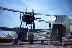 Royal AF - Supermarine Walrus (Sn W (O-ZE) of No. 293 Squadron - Was a Single Engine Amphibious Biplane Reconnaissance Aircraft - Circa 1944 Aircraft Parts, Ww2 Aircraft, Military Aircraft, Photos Originales, Flying Boat, Ww2 Planes, Aircraft Design, Royal Air Force, Royal Navy