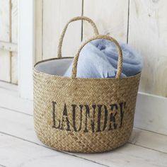 Pretty Laundry Baskets Laundry Baskets Riviera Maison  Laundrycleaningmudroom