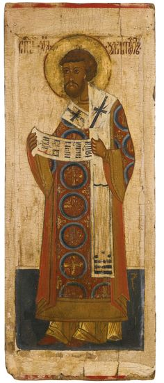 St John Chrysostom, Northern Russia, early 17th century | Lot | Sotheby's