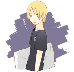 Inojin Yamanaka c; He resembles his Father, Sai, so much! ;D