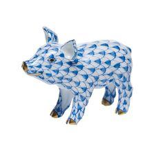 Herend Little Piggy Standing Figurine