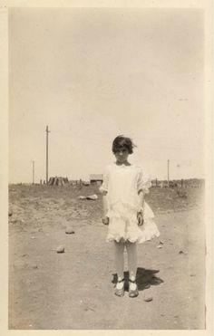 Dusty landscape - c. 1920s