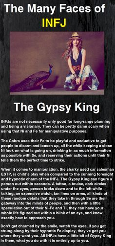The Many faces of the Infj: The Gypsy King