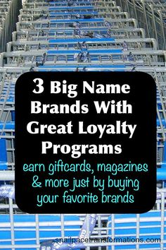 3 big name brands that reward you for buying their products. Earn gift cards, high value coupons, free photo products, magazine subscriptions and more with these loyalty programs. Money Tips, Money Saving Tips, Saving Time, Photo Products, Free Gift Card Generator, Survey Sites, Budgeting 101, Save Money On Groceries, Financial Tips