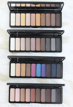 REVIEW: e.l.f. Studio Eyeshadow Palettes | Slashed Beauty