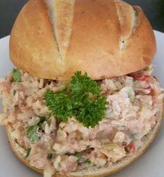 Tonijnsalade a la Place / Salade's / Recepten   Elfriedesreceptenhoekje.jouwweb.nl
