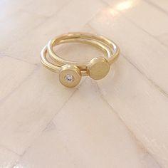 Monsoon Sirocco Rings with White Diamond (Set of Monsoon, Diamond, Bracelets, Rings, Gold, Collection, Jewelry, Bangle Bracelets, Jewellery Making