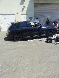 My Mazdaspeed3 gettin on the dyno