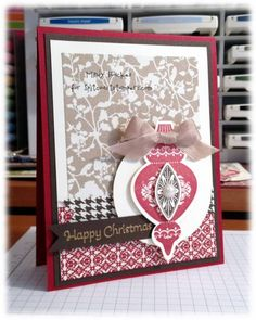 Happy ornament by Minders - Cards and Paper Crafts at Splitcoaststampers