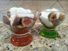 Fresh Figs with Yogurt and Honey » Live Well Furman