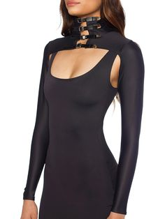 Buckled Bolero - LIMITED (WW $70AUD / US $56USD) by Black Milk Clothing