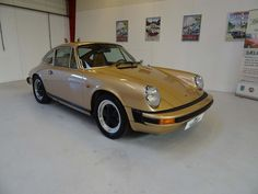 1975 Porsche 911S Coupé  Wonderful Porsche 911S in great mechanical and cosmetic condition, one of the very best we have ever seen and driven. Fully documented service history dating back to new in 1975 (over 100 documents and receipts included in the sale). Same owner from new to 2009 after which it was brought to Denmark and restored, including engine rebuild and new paint.  - K259