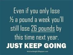 just goes to show...every pound counts!!!