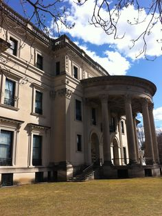 Vanderbilt mansion in Hyde Park, NY.     Visited in late 80s - nice tour.
